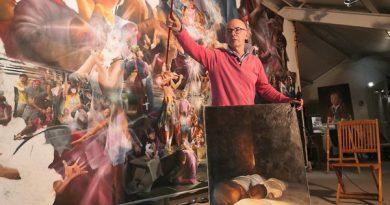 一位法国画家的情怀—记画家阿兰 (Alain Fromonot)