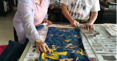 断传近半个世纪的海南黎锦龙被制作技艺续上啦