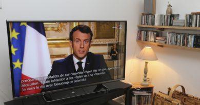 法国封国: 限制外出 关闭边境